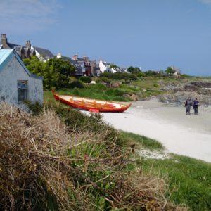 sandy beach on the Isle of Iona