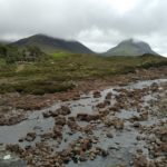 The Cuillins Mountains from Sligachan, Skye