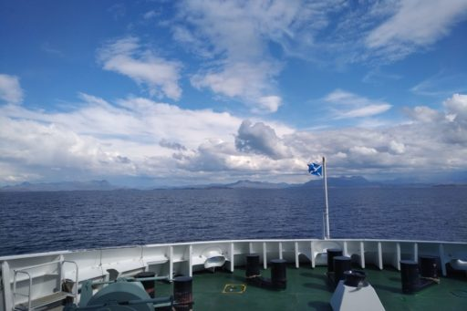 sailing on CalMac ferries from Stornoway to Ullapool