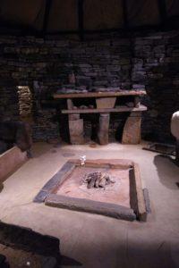 Skara Brae - replica house