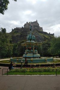 Princes Street Gardens, Edinburgh - Ross Fountain