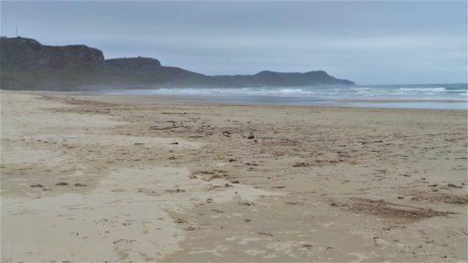 stormy Islay beach