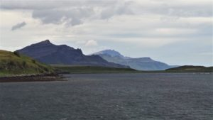 Cuillins from Raasay ferry