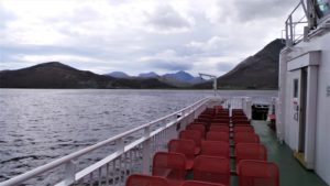 view from Raasay ferry