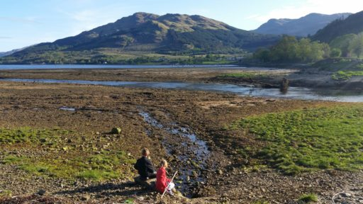 children at lochgoil