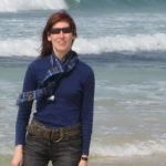 Viola Lewis, tourist guide in Harris. Outer Hebrides